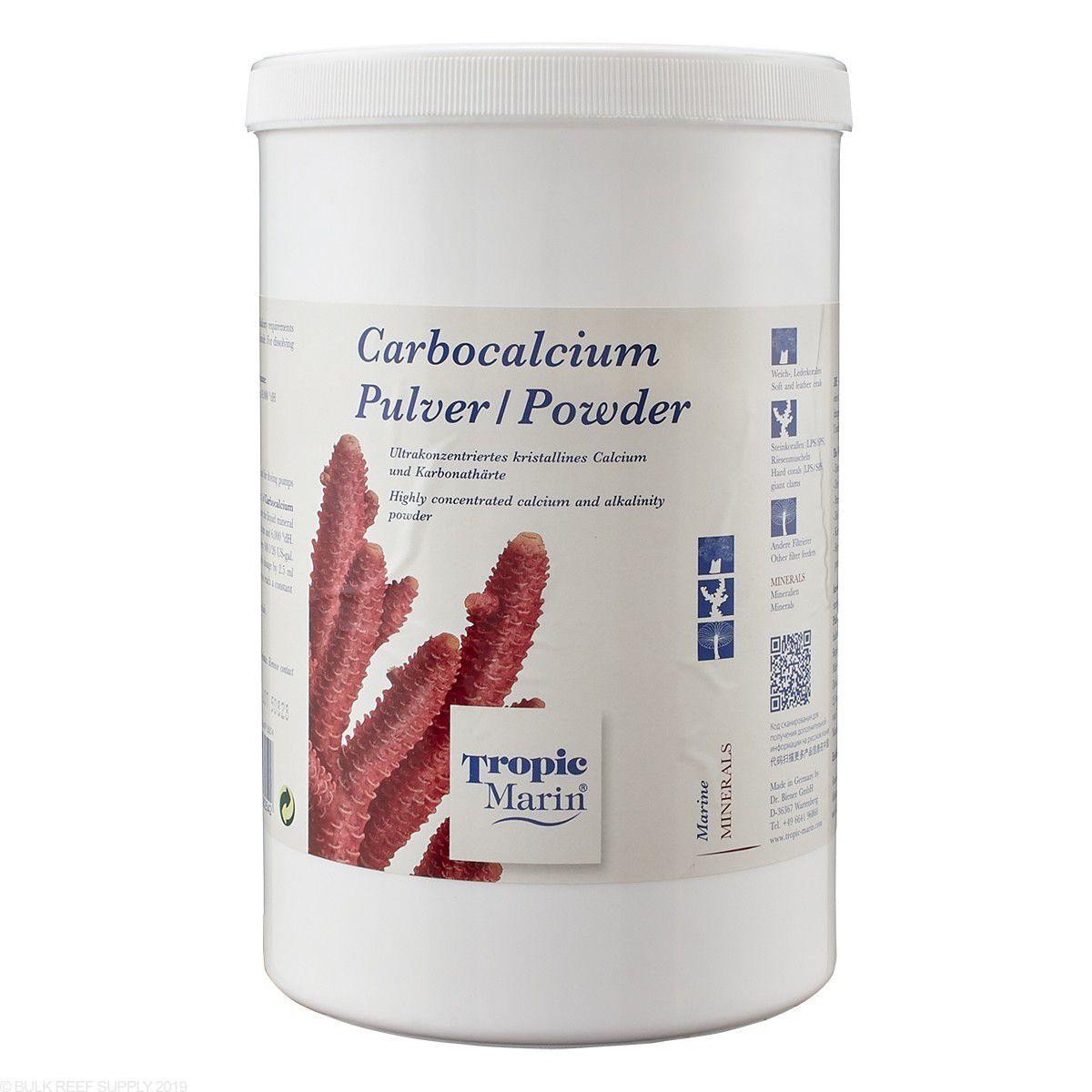 Tropic Marin Carbocalcium em Pó Balling Ca Kh - 1400g