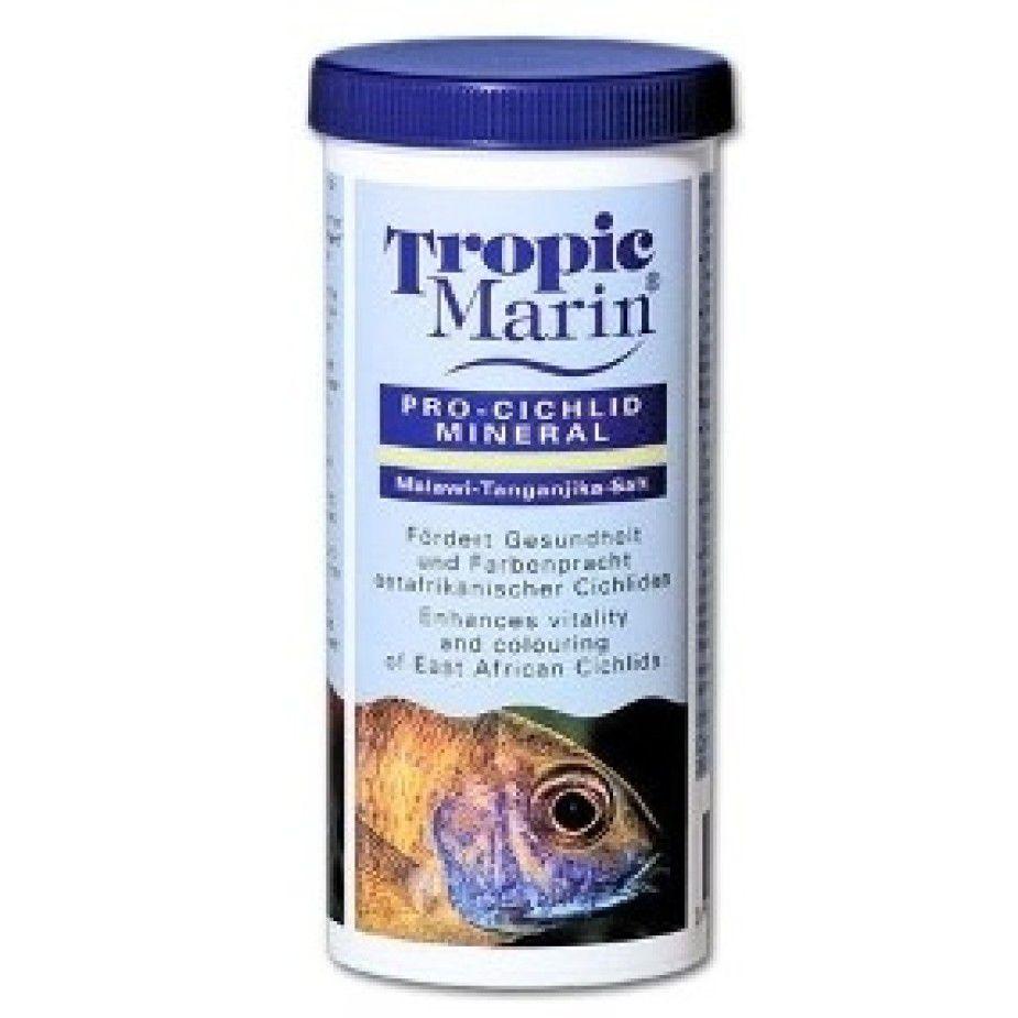 Suplemento de Coloração para Ciclídeos Tropic Marin Pro Cichlid Mineral 250g