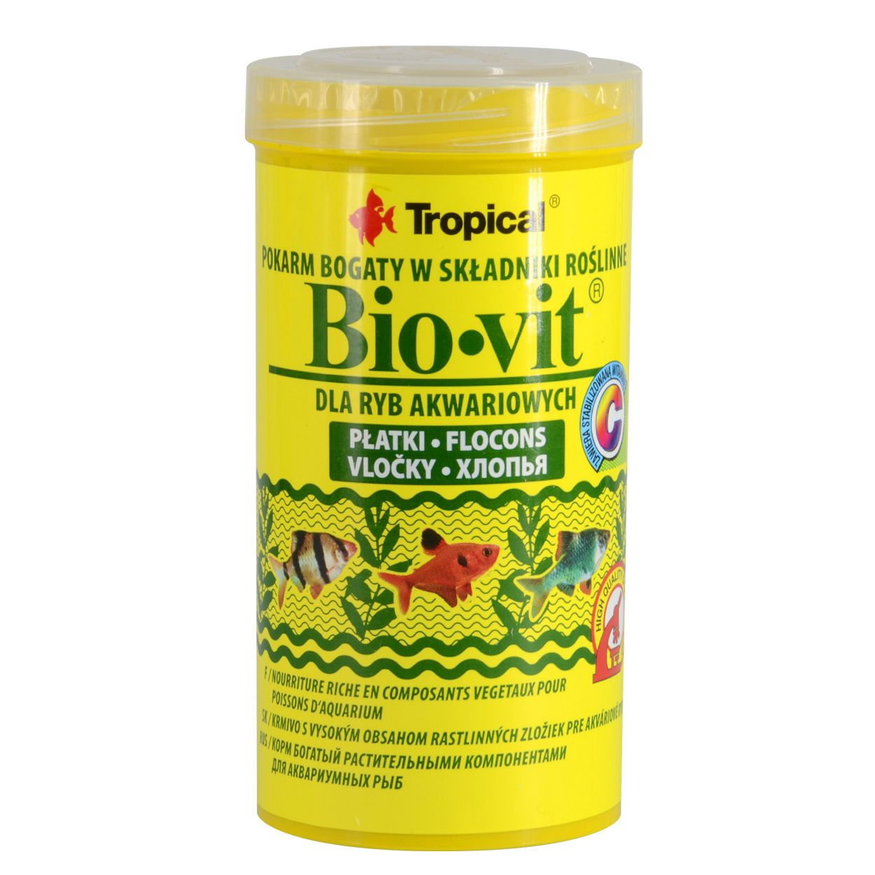 Tropical Flocos Bio Vit  50g - Alimento Vegetal para Peixes