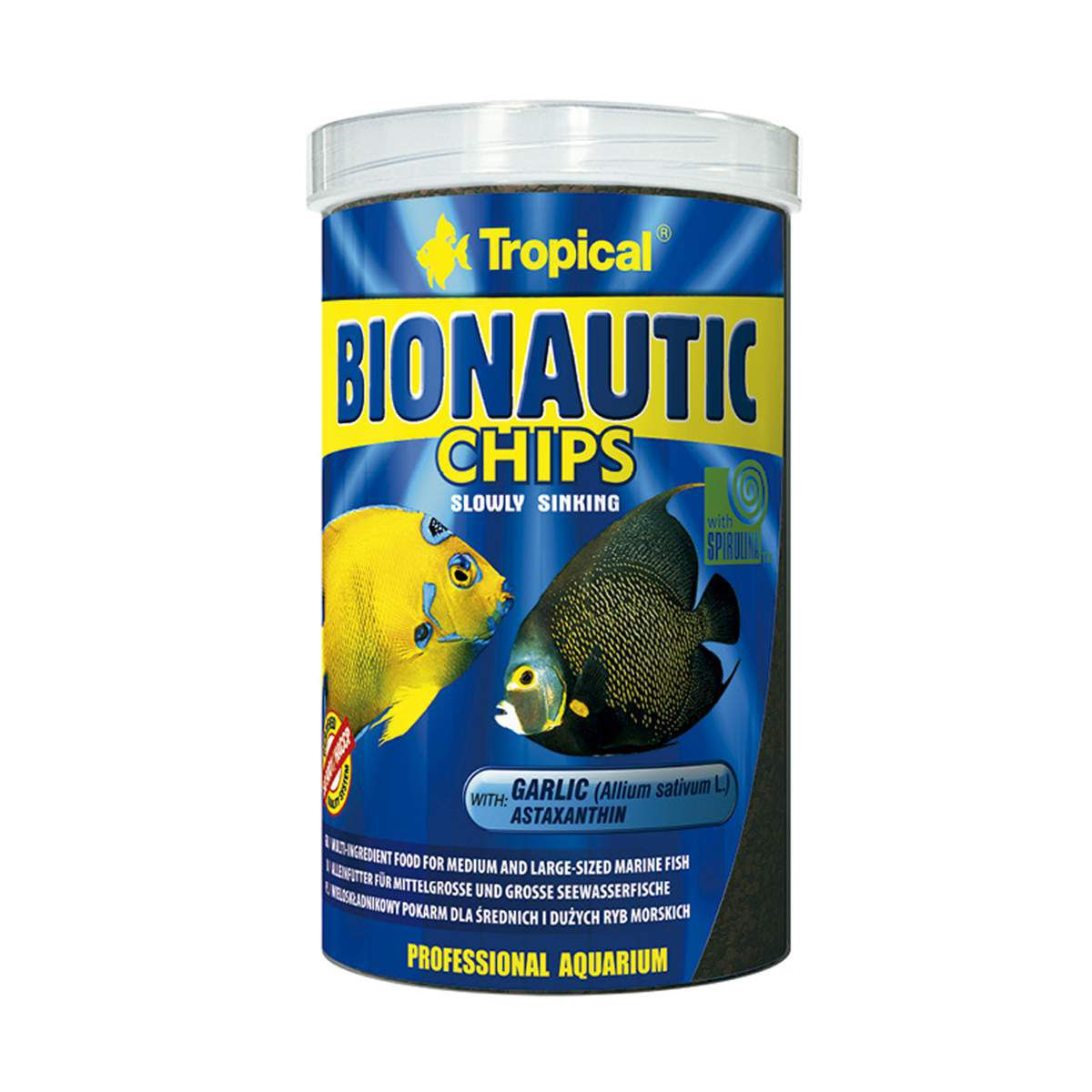 Alimento Multi-Ingredientes Tropical Bionautic Chips - 130g