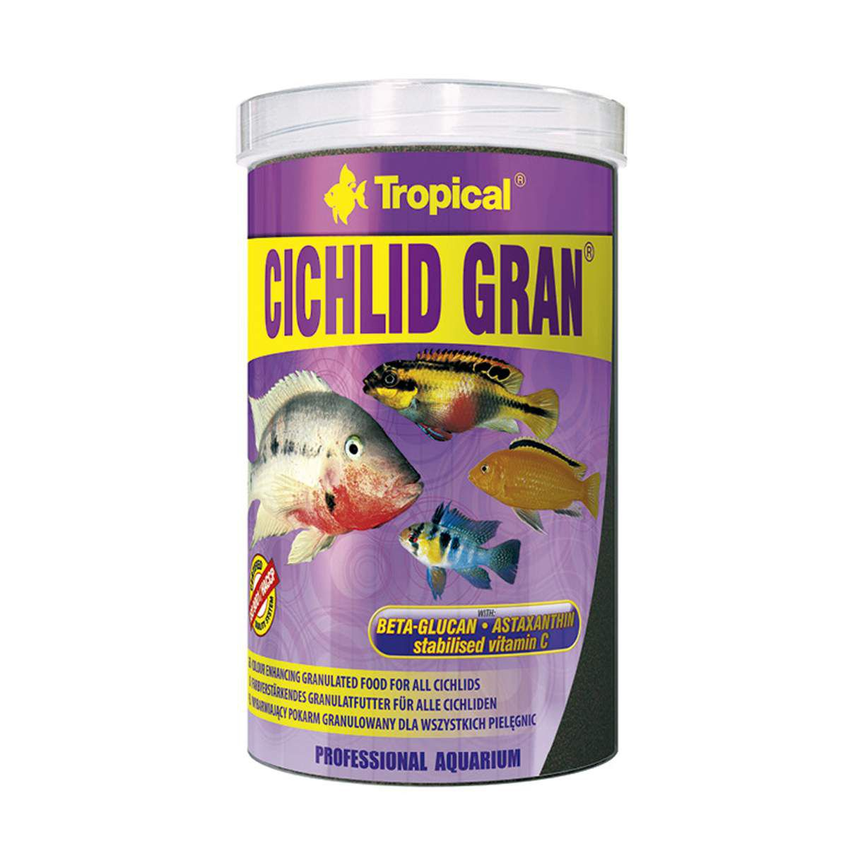 Ração Premiu Ciclídeos Tropical Cichlid Gran 55g