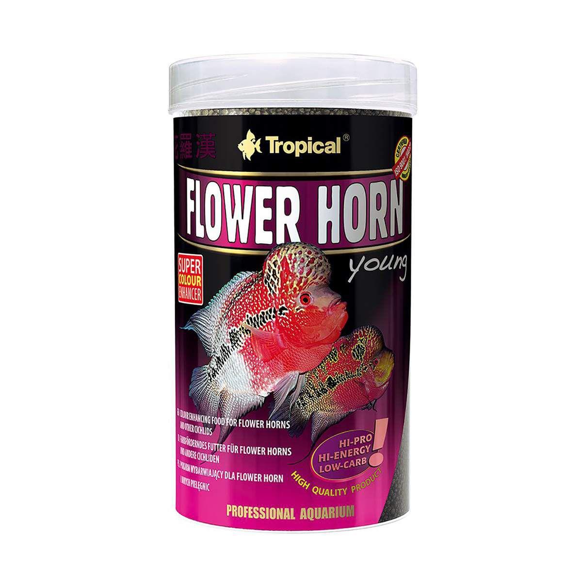 Tropical Flower Horn Adult Pellet 190g