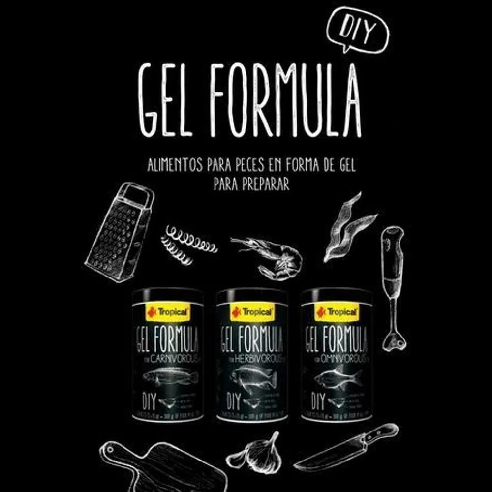 Tropical Gel Formula Carnivorous 300g