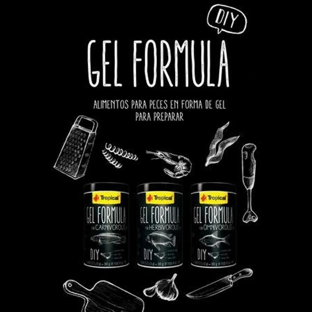 Tropical Gel Formula Omnivorous 300g