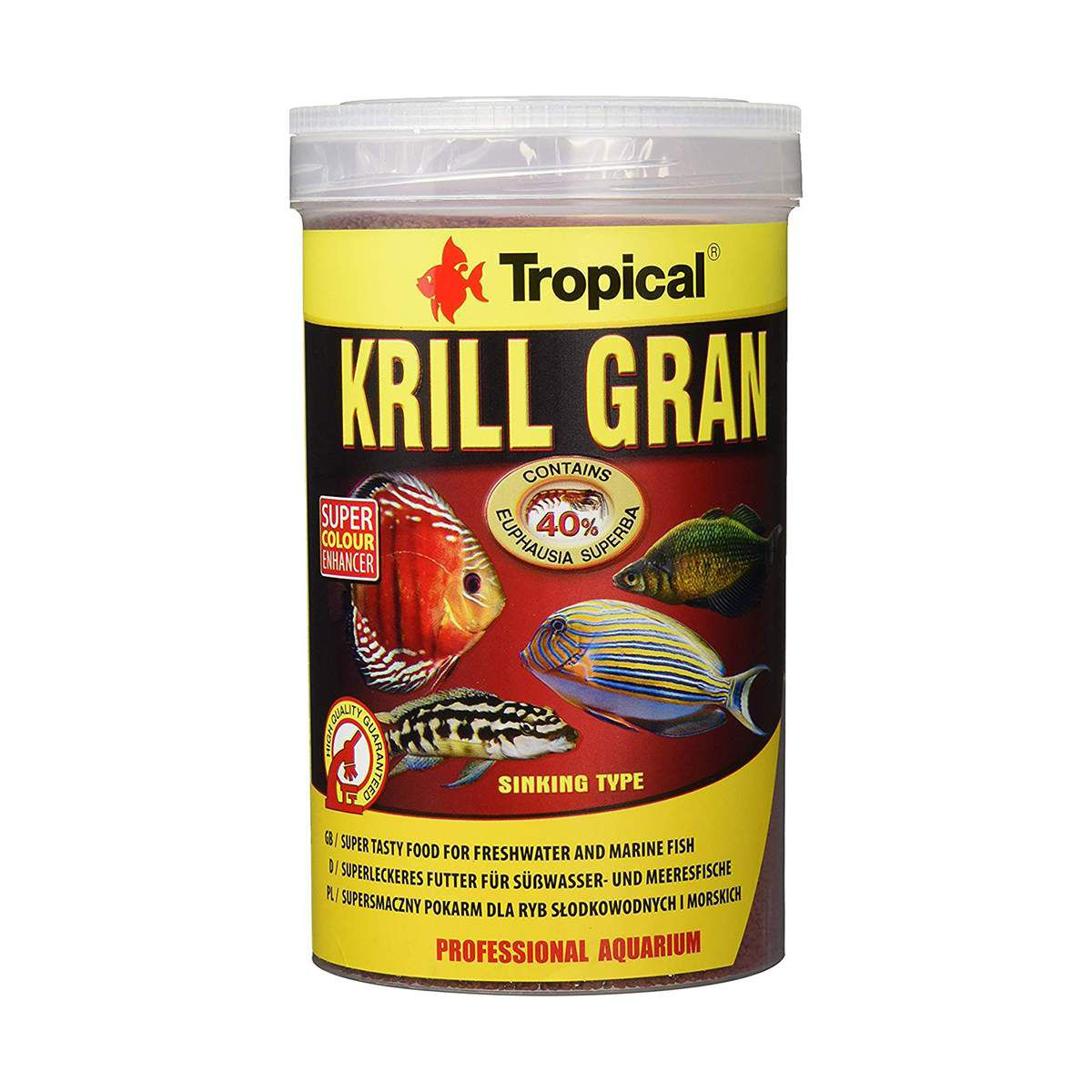 Ração para Peixes Tropical Krill Gran - 54g