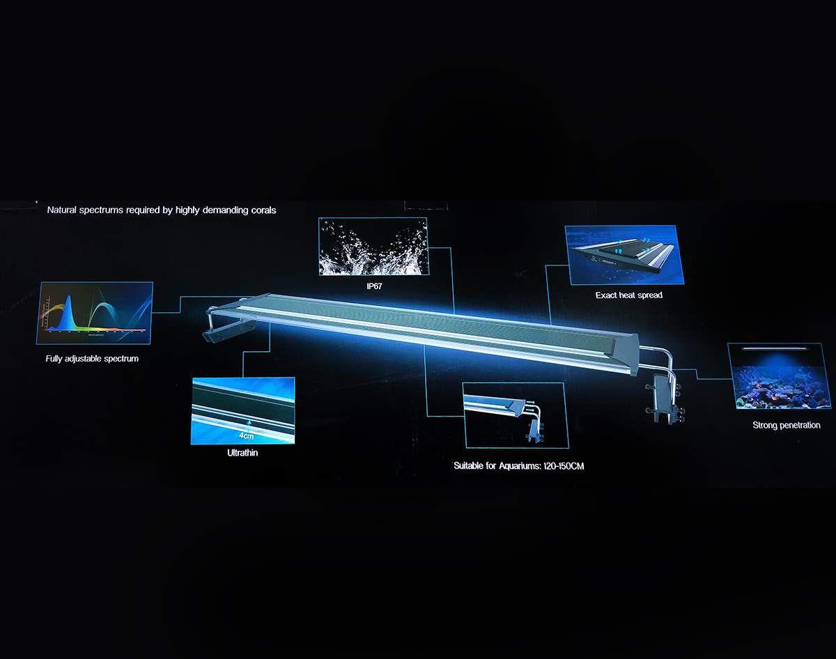 ZETLIGHT LUMINÁRIA ZT6800 QMAVEM SÉRIE II LED 210w - 110V / 220V