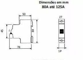 Steck Disjuntor Din Unipolar 32 A Sd Curva C