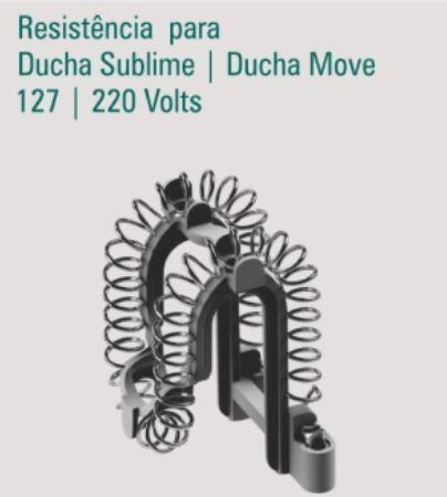 Ducha Eletronica Sublime Zagonel Branca 220v 7500w C/ Led