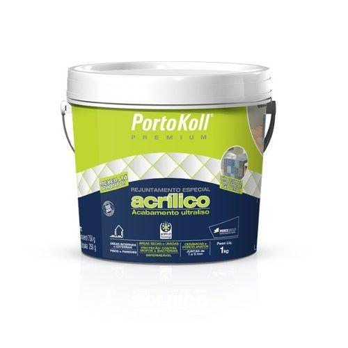 Rejunte Acrílico Portokoll Pátina Chocolate 1 Kg