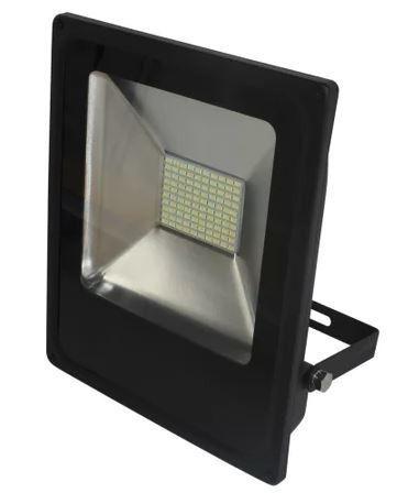 Refletor Led Slim 50w Luz Branco 6.000k Bivolt Initial
