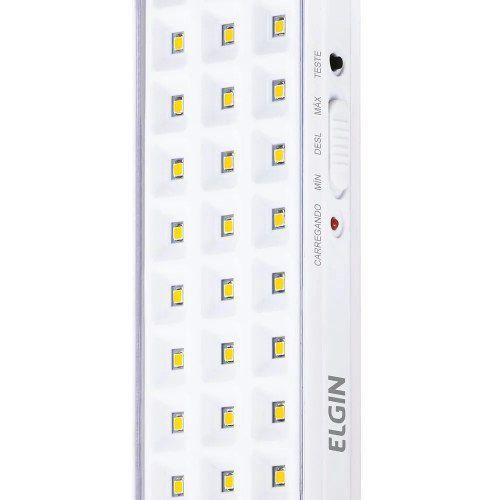 Luminária De Emergência 60 Leds 3w Elgin