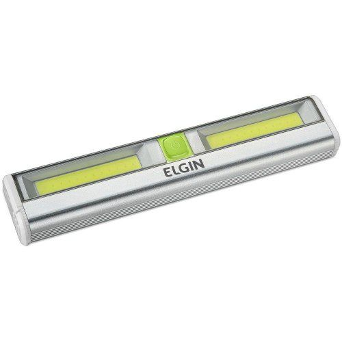 Mini Luminária Button Led Slim Portátil 3w 6500k Elgin