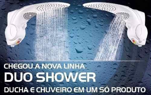 Chuveiro Duo Shower Lorenzetti Branco 220v 7500w