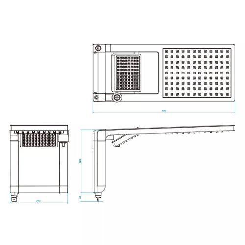 Chuveiro Acqua Duo Ultra Lorenzetti Branco e Cromado 220v 7800w