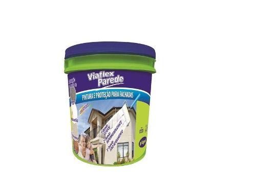 Impermeabilizante Parede Viapol Viaflex Branco 3,6 Kg