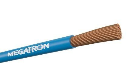 Fio Cabo Flexível Cobre 16,0mm Rolo 100m Azul - Megatron