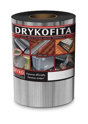 Fita Asfáltica Autoadesiva Multiuso Dryko 20cmx10m