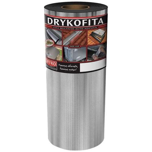 Fita Asfáltica Autoadesiva Multiuso Dryko 45cmx10m