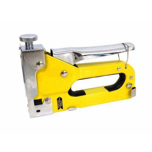 Grampeador Uso Profissional Manual 4 A 14mm Fertak 8501