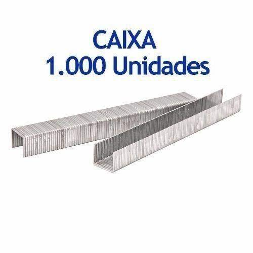 Grampo Para Grampeador Tapeceiro 6mm Cx C/ 1000 Fertak