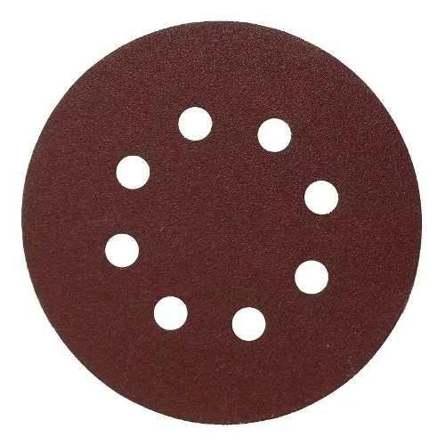 Disco De Lixa 5 Pol. G100 8 Furos 10 Unidades D54162 Makita