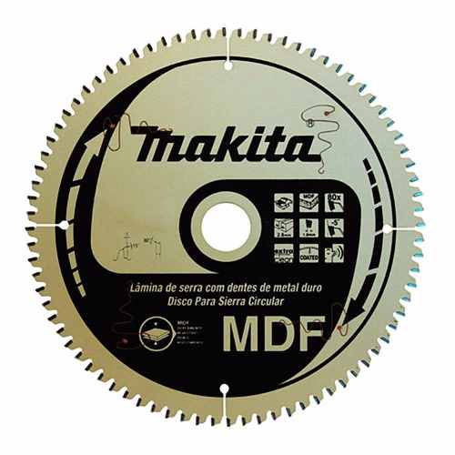Disco De Serra Circular Makita 250mm 80 Dentes B-49585