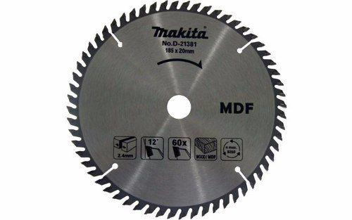 Disco De Serra Madeira Widea Makita 185mm X 60 Dentes D21381