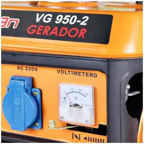 Gerador Energia Gasolina 2t Part Manual 950w Vg950 220v Vulcan
