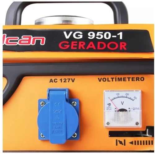 Gerador Energia Gasolina 2t Part Manual 950w Vg950 110v Vulcan