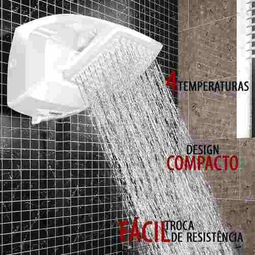 Chuveiro Ducha Futura Lorenzetti Multitemperaturas 220v 7500w