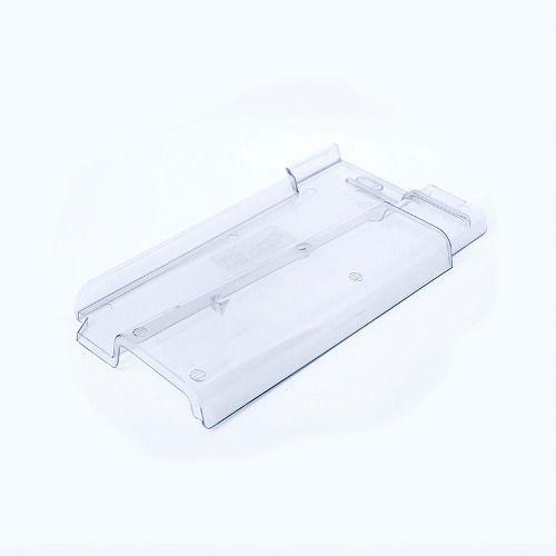 Telha Transparente Policarbon Romana 40x21cmx2mm Lux Telhas