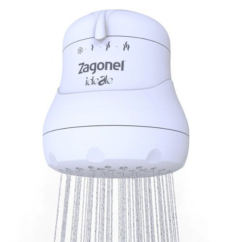 Ducha Zagonel Ideale Plus 4 Temperaturas 6000w 220v Branco