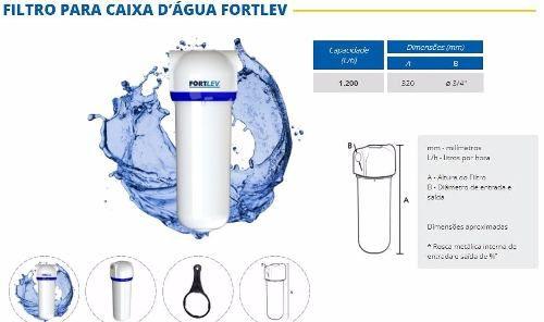 Filtro Para Caixa D'água Fortlev Entrada Cavalete