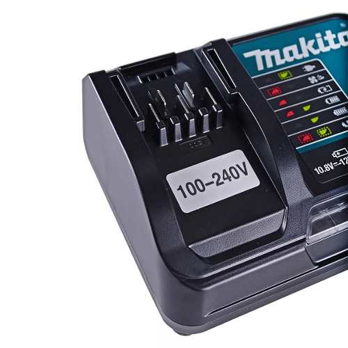 Carregador De Bateria 10,8v-12v Li-ion Dc10sb Makita Bivolt