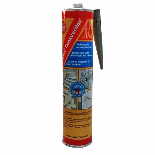 Selante Pu Sikaflex Construction Cinza 310ml Sika