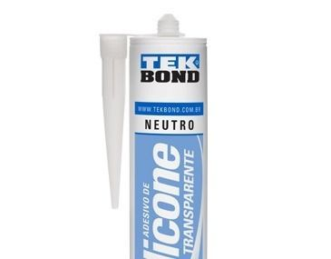 Adesivo De Silicone Neutro Transparente 280g Tek Bond