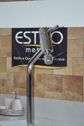 Torneira Cozinha 3030 Cromada Mesa 1/4 Volta Estilo Metais