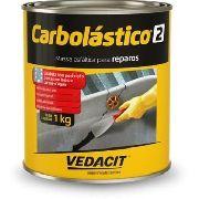 Pintura Asfáltica Carbolástico 2 Vedacit 1 kg P/ Impermeabilização