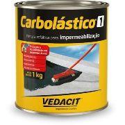 Pintura Asfáltica Carbolástico 1 Vedacit 1 Kg P/ Impermeabilização