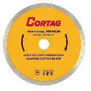 Disco Corte Diamantado Zapp Premium 180mm Cortag
