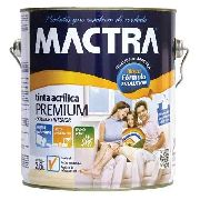 Tinta Látex Acrílica Branco Premium Mactra 3,6 Litros