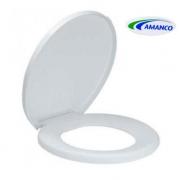Assento Sanitário Amanco Mundial Tradicional Branco 10502