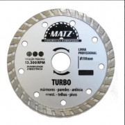 Disco Corte Diamantado Turbo Esm 115x22,23mm Corte Seco Matz