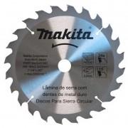 Disco Serra Madeira Widea 185mm X 24 Dentes D51340 Makita
