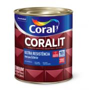 Esmalte sintético alto brilho Coralit Ultra resistência azul França 900ml Coral