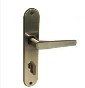 Fechadura para Porta de Banheiro Latonado 40mm Comum 2800/70 BL Aliança