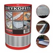 Fita Multiuso Autoadesiva Dryko 20cm C/ 10mts Aluminizada