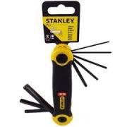 Jogo de Chave Allen Stanley 8 peças 1,5mm-8mm