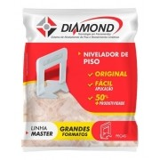 Kit 100 Nivelador Espaçador De Piso 2,0mm Diamond