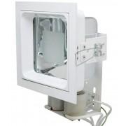 Luminária Embutir Quadrada Semi Fosco 17x17 Alumbra